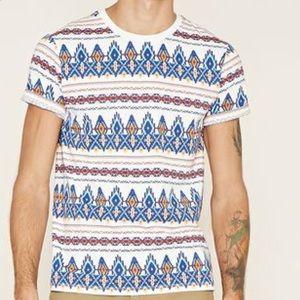 Forever 21 Men southwestern print shirt 👕